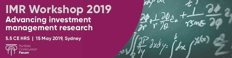 2019 Investment Research Workshop - overview & registration